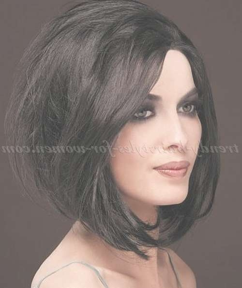 Medium Length Hairstyles For Straight Hair – Medium Length Bob In Womens Medium Length Bob Hairstyles (View 12 of 15)