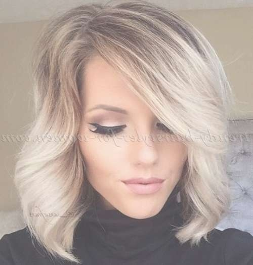 Medium Length Hairstyles For Straight Hair – Ombre Bob Hairstyle Intended For Bob Hairstyles With Ombre (View 5 of 15)
