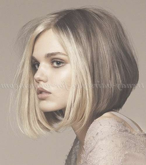 Medium Length Hairstyles For Straight Hair – Shoulder Length Bob In Womens Medium Length Bob Hairstyles (View 10 of 15)