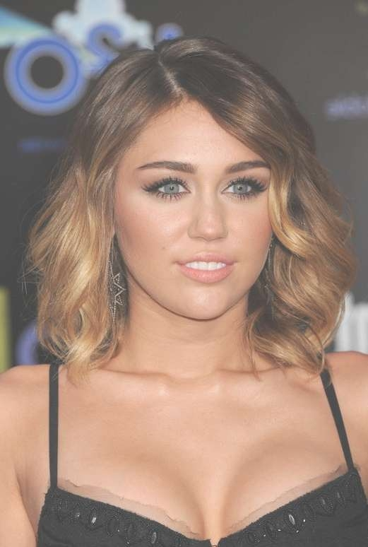 Miley Cyrus Hairstyles – Celebrity Latest Hairstyles 2016 Within Miley Cyrus Bob Haircuts (View 7 of 15)