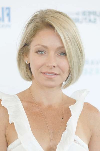 More Pics Of Kelly Ripa Bob (7 Of 10) – Short Hairstyles Lookbook Throughout Kelly Ripa Bob Hairstyles (View 14 of 15)