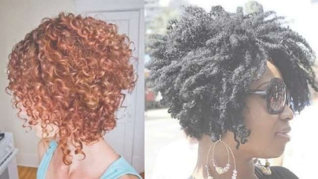 Natural Curly Bob Inspiration – Wodip Inside Bob Hairstyles For Naturally Curly Hair (View 6 of 15)