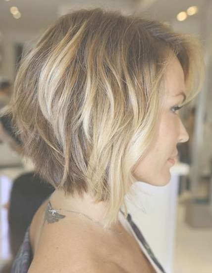 Neck Length Layered Bob – Popular Haircuts In Neck Length Bob Hairstyles (View 13 of 15)