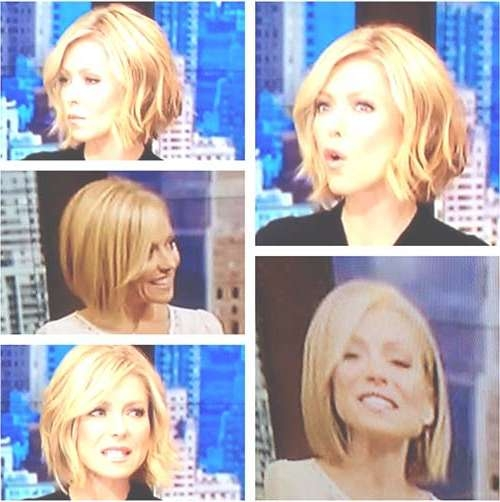New Cute Hairstyles For Short Wavy Hair | Short Hairstyles 2016 For Kelly Ripa Bob Hairstyles (View 6 of 15)