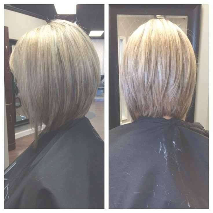 New Ideas Long Bob Hairstyles Front | Simple Stylish Haircut Within Front And Back Views Of Bob Hairstyles (View 14 of 15)