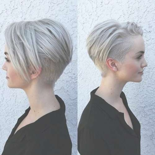 Photos About Hair, Nails, Toenails And Tattoo! | Super Vlasy With Bob Haircuts With Undercut (View 12 of 15)