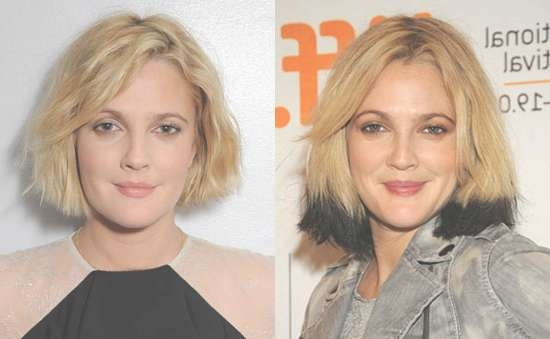 Pictures Of Drew Barrymore's New Haircut 2009 09 29 13:04:18 In Drew Barrymore Bob Hairstyles (View 15 of 15)