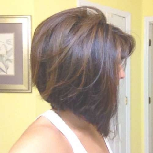 Pretty Bob Hairstyles For Thick Hair | Hairstyles 2017, Hair For Bob Hairstyles And Colors (View 8 of 15)