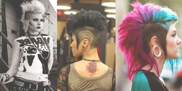 Punk – Rock Hairstyles! In Punk Rock Bob Haircuts (View 13 of 15)