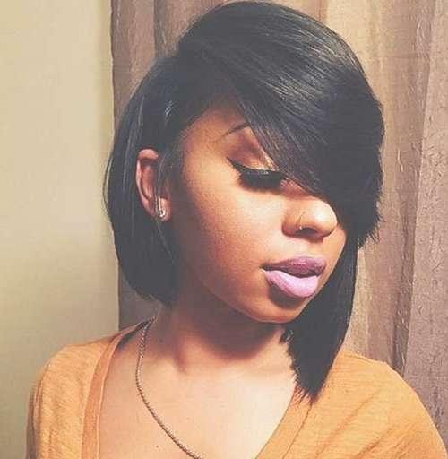 Really Pretty Black Girl Bob Haircuts | Bob Hairstyles 2017 Throughout Black Girl Bob Haircuts (View 2 of 15)
