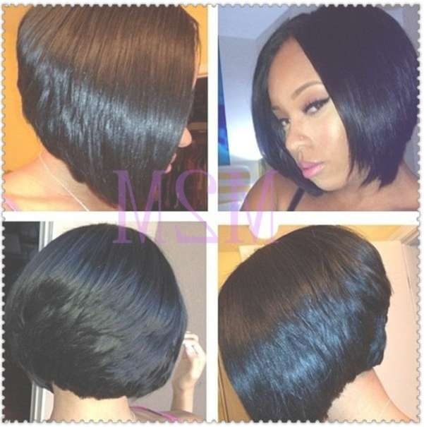 Short African American Bob Hairstyles Female39S Area African For Bob Haircuts For African American (View 6 of 15)