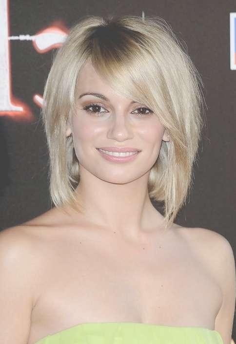 Short Blonde Bob Haircut With Bangs For Thick Hair – Norma Ruiz Pertaining To Blonde Bob Haircuts With Bangs (View 5 of 15)