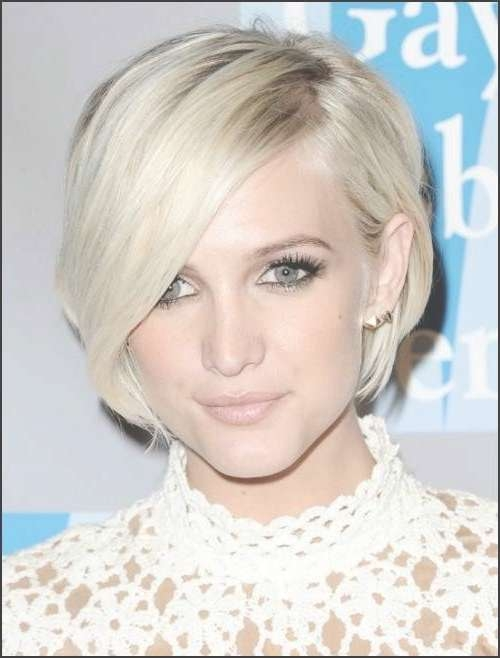 Short Bob Hairstyles From Celebrities | New Haircuts To Try For For Ashlee Simpson Bob Haircuts (View 6 of 15)