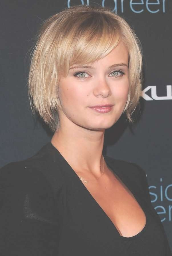 Short Bob Hairstyles With Bangs: 4 Perfect Ideas For You | Talk With Bob Hairstyles Side Swept Bangs (View 6 of 15)