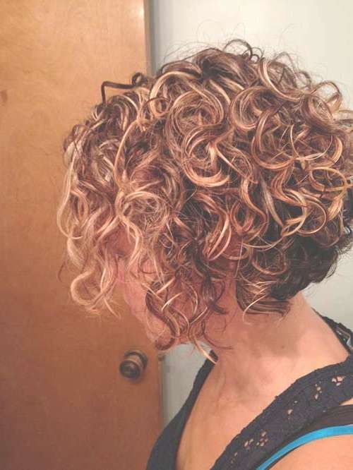 Short Curly Bobs 2014 – 2015 | Bob Hairstyles 2017 – Short Pertaining To Inverted Bob Haircuts For Curly Hair (View 14 of 15)