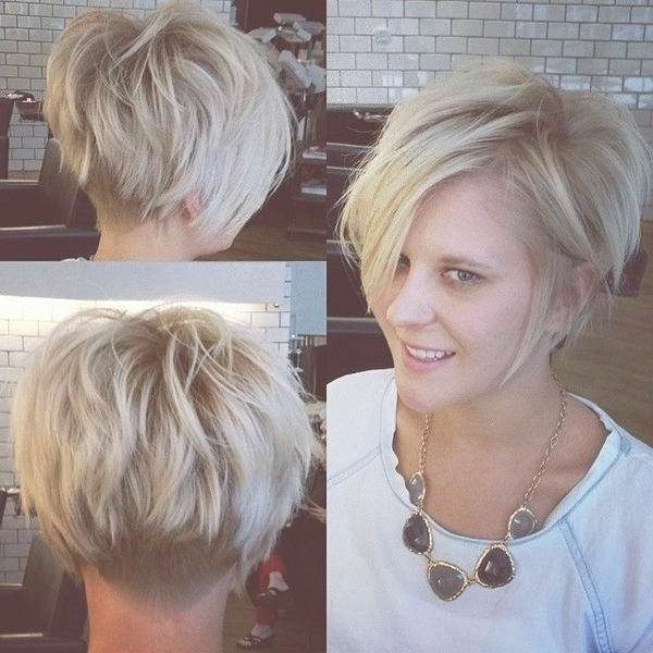 Short Funky Hairstyles For Round Faces For Teens Intended For Short Funky Bob Haircuts (View 10 of 15)
