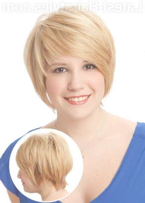 Short Haircuts For Chubby Faces | Short Hairstyles 2016 – 2017 Inside Bob Haircuts For Chubby Faces (View 13 of 15)
