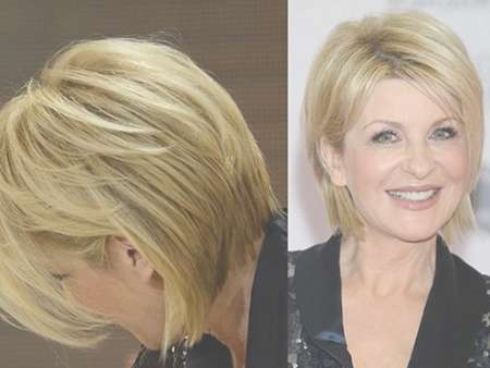 Displaying Gallery Of Bob Haircuts For Mature Ladies View 3 Of 15