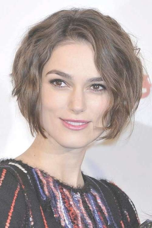 Short Haircuts For Wavy Thick Hair | Short Hairstyles 2016 – 2017 Throughout Layered Bob Haircuts For Thick Wavy Hair (View 6 of 15)