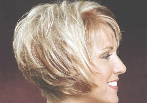 Short Haircuts For Women Over 50 – The Best Flattering Short Inside Short Bob Haircuts For Women Over (View 10 of 15)