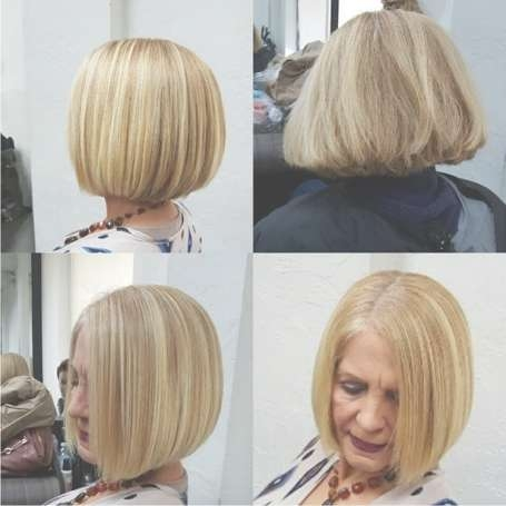 Short Haircuts For Women Over 50 With Bob Haircuts Over (View 13 of 15)