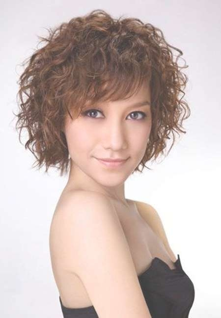 Featured Photo of Short Curly Bob Haircuts With Bangs