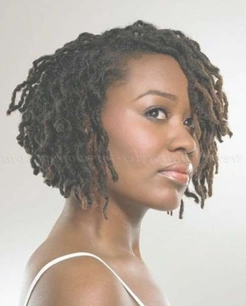 Short Hairstyles For Natural Curly Hair – Afro Braid Bob Hairstyle For Afro Bob Haircuts (View 6 of 15)