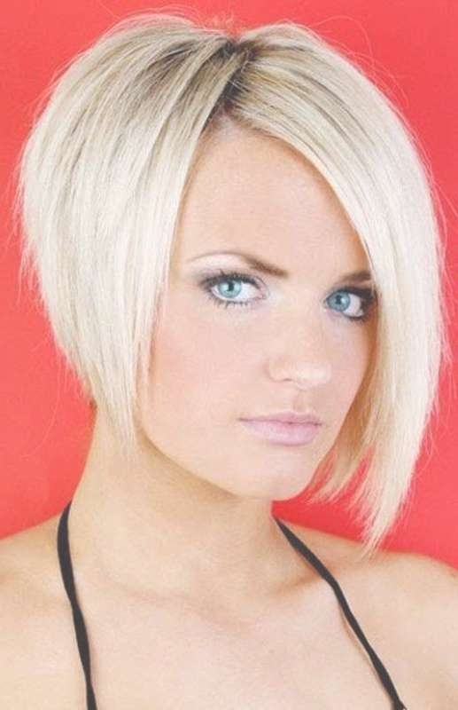 Short Hairstyles For Round Faces Black Short Layered Bob For Short Bob Hairstyles For Round Faces (View 15 of 15)