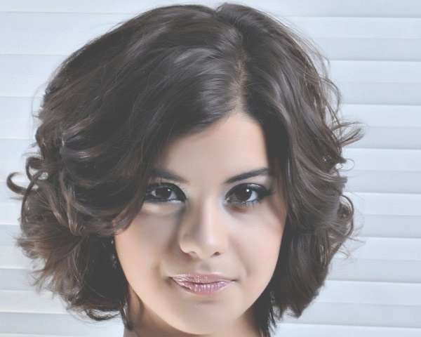 Short Hairstyles For Thick Hair   Medium Hair Styles Ideas – #1381 With Regard To Bob Haircuts For Thick Curly Hair (View 8 of 15)