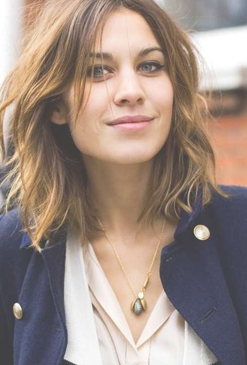 Featured Photo of Long Bob Haircuts For Wavy Hair