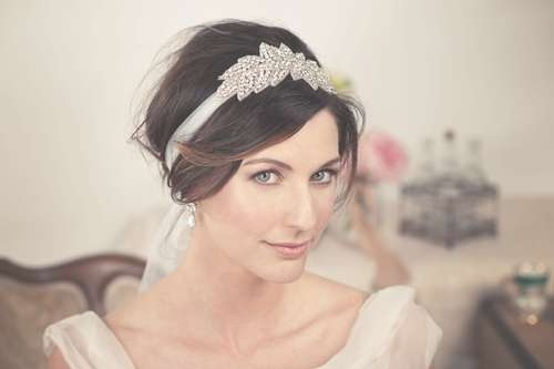 Short Wedding Hairstyles With Headband – New Hairstyles, Haircuts Inside Bob Hairstyles With Headband (View 9 of 15)