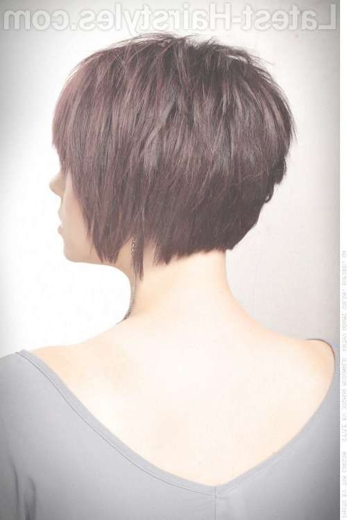 Side Back Textured Bob (View 8 of 15)