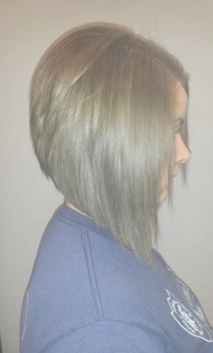 Side View Of Graduated Bob Haircut | Styles Weekly Pertaining To Long Graduated Bob Haircuts (View 14 of 15)