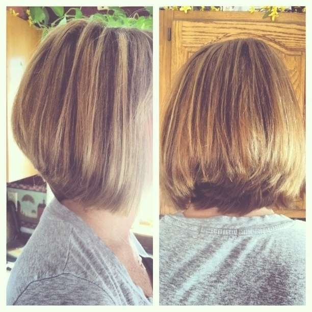Simple Natural Look – The Layered Bob Haircut For Thick Hair Pertaining To Layered Bob Haircuts For Thick Hair (View 9 of 15)