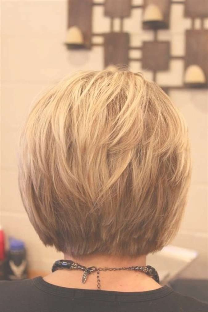 Spikey Bob Hairstyles Back View – Popular Haircuts Regarding Back View Layered Bob Haircuts (View 5 of 15)