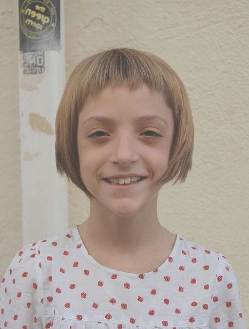 """Sugar & Spice"""" Girl's Geometric Bob Hairstyle For Girls Throughout Cute Bob Haircuts For Girls (View 10 of 15)"""
