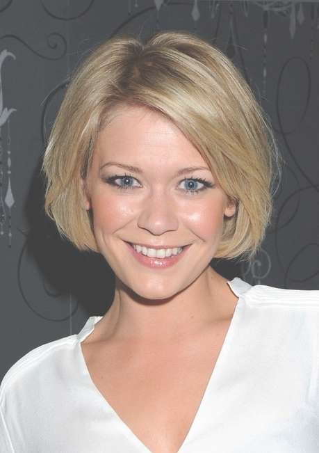 Suzanne Shaw Bob Hairstyle – Cute Celebrity Hairstyle For Oval Throughout Bob Hairstyles For Long Face (View 12 of 15)