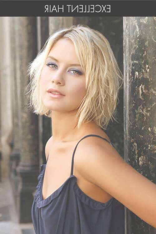 The 21 Most Flattering Bob Hairstyles For Round Faces For Layered Bob Haircuts For Round Faces (View 15 of 15)