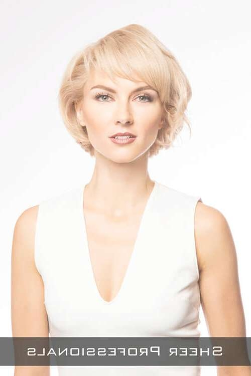 The 24 Ultimate Short Hairstyles For Long Faces Inside Short Bob Haircuts For Long Faces (View 7 of 15)