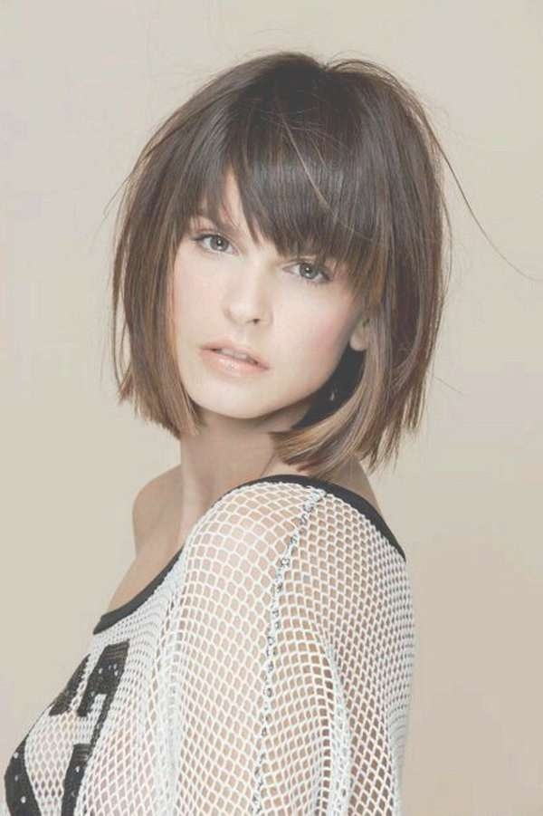 The 25+ Best Bob Hairstyles With Bangs Ideas On Pinterest | Short In Bob Haircuts With Fringe (View 12 of 15)