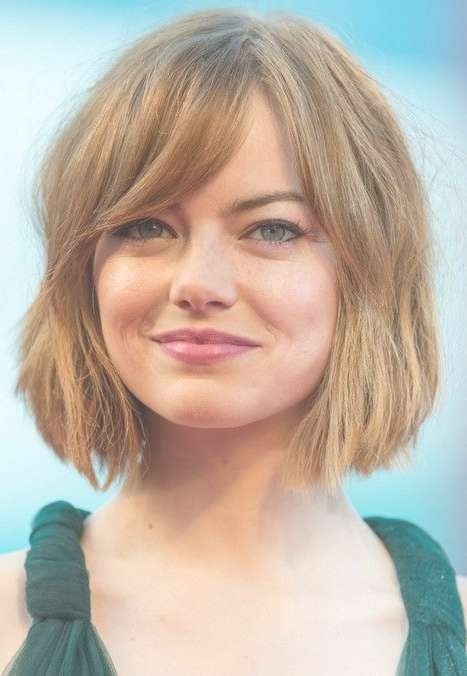 The 25+ Best Bobs For Thick Hair Ideas On Pinterest | Short Bob Throughout Bob Haircuts For Thick Hair (View 14 of 15)