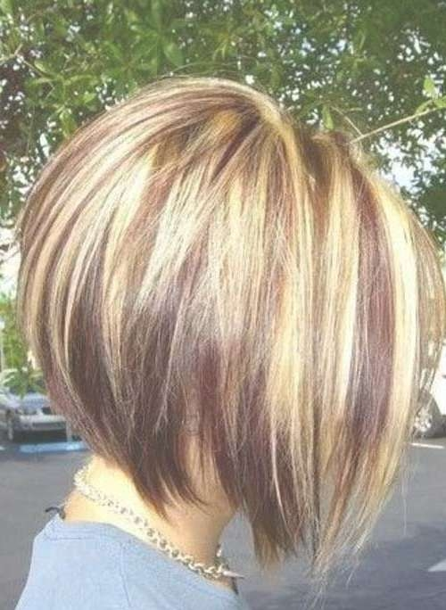 The 25+ Best Graduated Bob Haircuts Ideas On Pinterest | Graduated Pertaining To Bob Hairstyles And Colors (View 11 of 15)