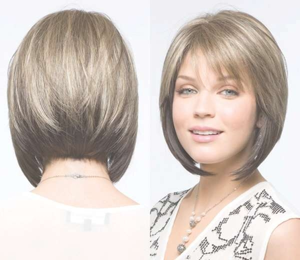 The 25+ Best Layered Angled Bobs Ideas On Pinterest | Stacked With Cute Layered Bob Hairstyles With Bangs (View 12 of 15)