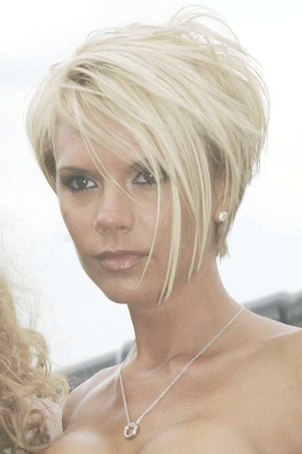 The 25+ Best Victoria Beckham Hairstyles Ideas On Pinterest With Regard To Different Length Bob Haircuts (View 15 of 15)