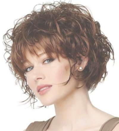 The Brilliant Along With Beautiful Short Curly Bob Hairstyles 2014 Inside Short Curly Bob Haircuts (View 14 of 15)