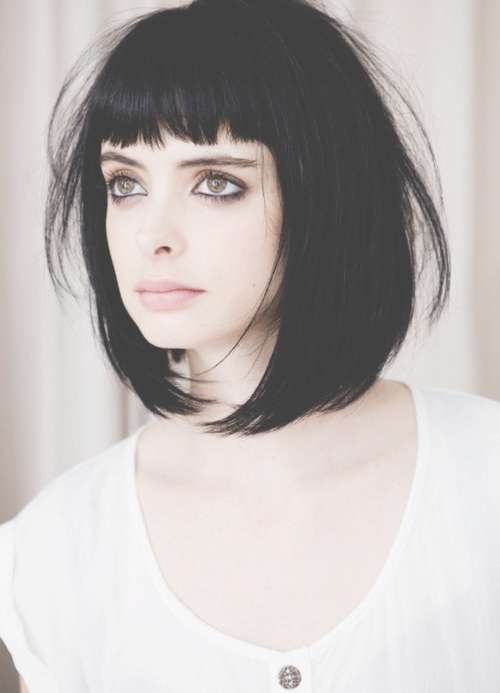 The Good Black Bob Hairstyles With Bangs – Bob Hairstyles With Bangs Intended For Black Bob Haircuts With Bangs (View 9 of 15)