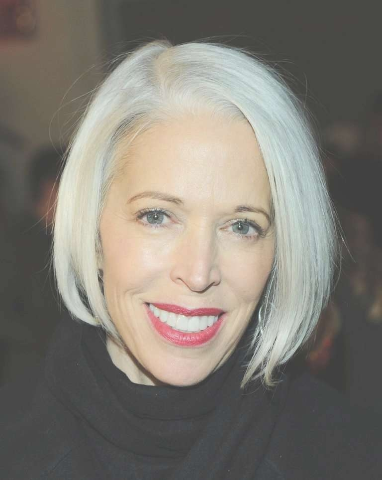 The Most Flattering Bob Hairstyles On Older Women Within Bob Haircuts For Mature Ladies (View 13 of 15)