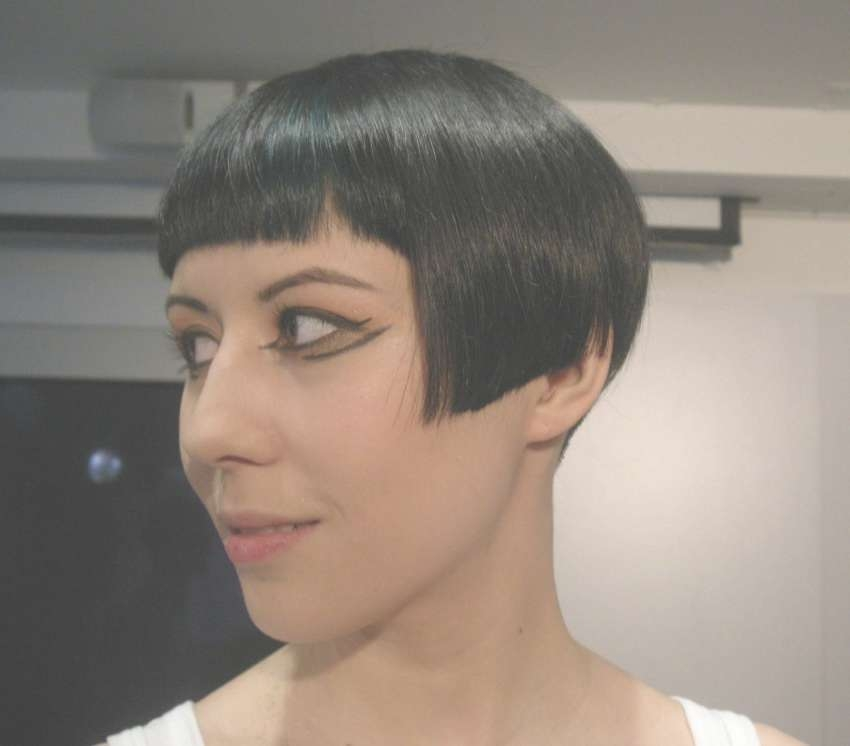 Very Short Bob Hairstyle With Bangs – Hairstyles In Very Short Bob Hairstyles With Bangs (View 10 of 15)
