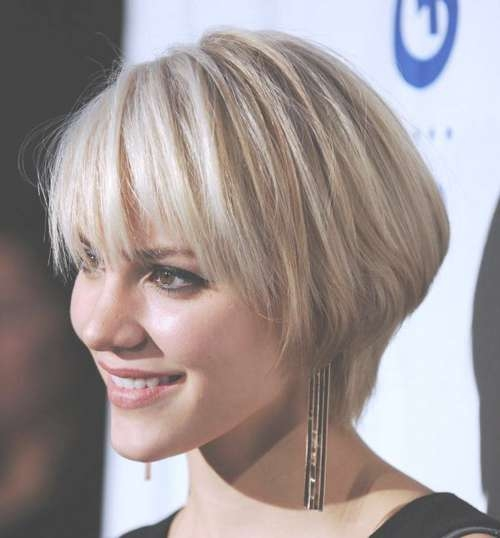 Featured Photo of Very Short Bob Hairstyles With Bangs