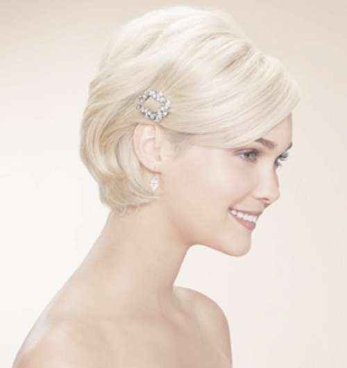 Wedding Hairstyles For Short Hair 2012 – 2013   Short Hairstyles Pertaining To Wedding Updos For Bob Haircuts (View 4 of 15)